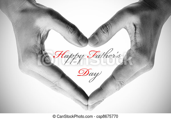 happy fathers day - csp8675770