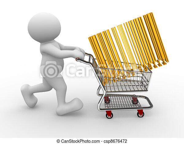 Shopping cart - csp8676472