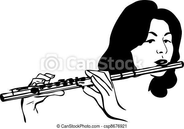 instrument flute clipa...