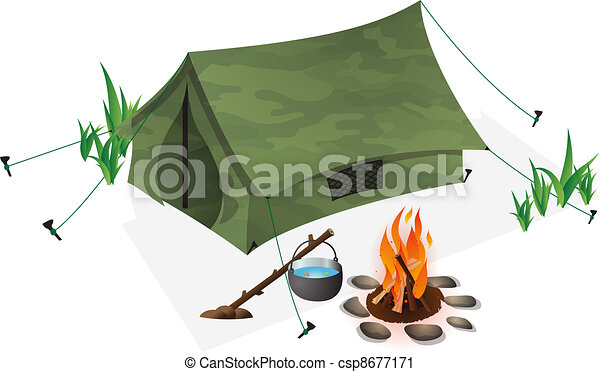 Camping Clip Art and Stock Illustrations. 28,414 Camping EPS ...