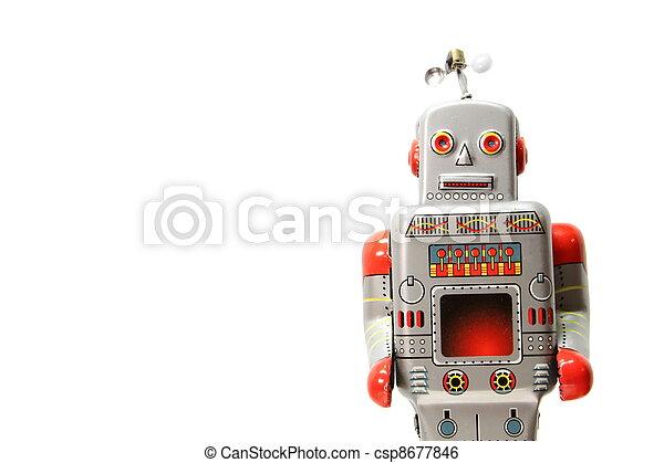 An old mecanical robot - csp8677846