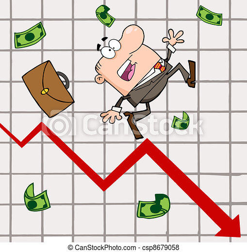Failed Businessman  - csp8679058