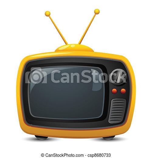Television - csp8680733