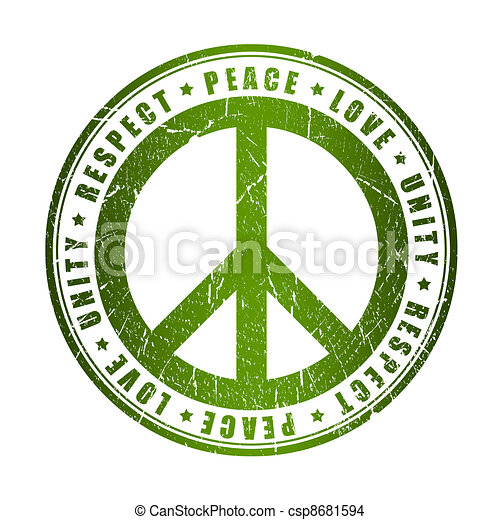 desenho de paz s237mbolo paz grunge s237mbolo csp8681594