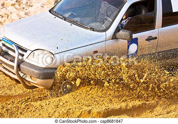 Off roading thrill - csp8681847