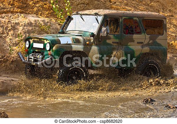 Off roading thrill - csp8682620