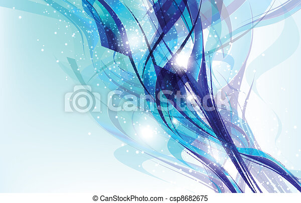 Colorful Abstract Fantasy Background. - csp8682675