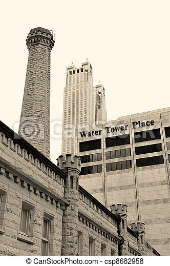 Chicago Water Tower - csp8682958