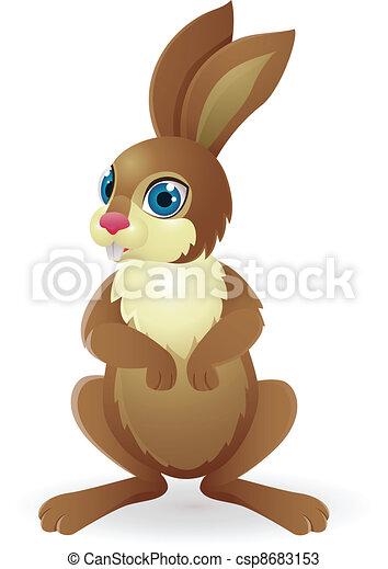 Funny Rabbit - csp8683153