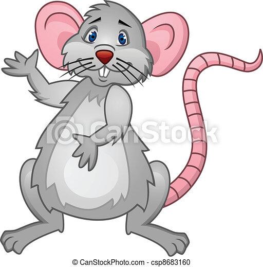Rat Cartoon - csp8683160