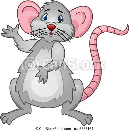 Rat Cartoon - csp8683164