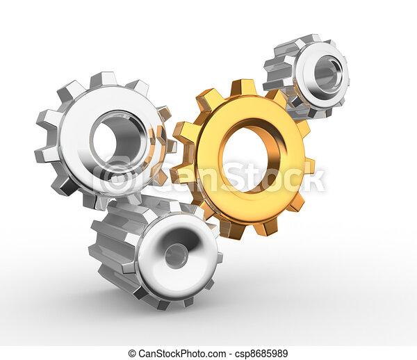 Gear mechanism - csp8685989
