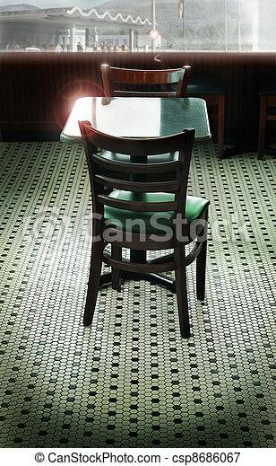 Retro diner setting - csp8686067