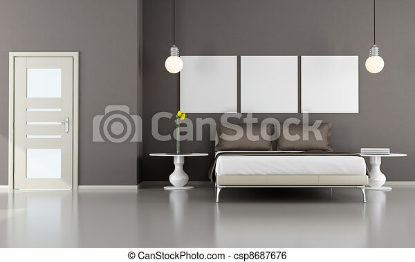 Bedroom - csp8687676