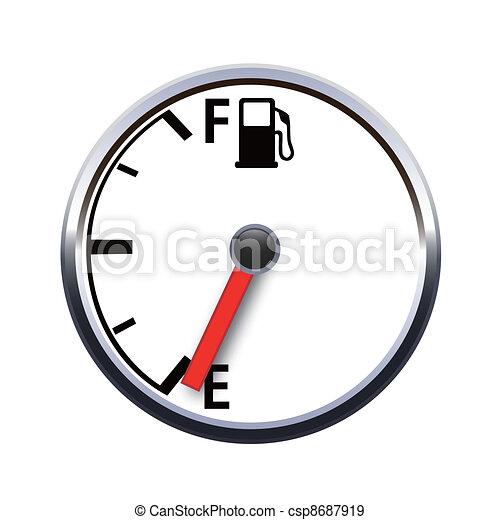Meter Icon Vector Vector Vector Gas Meter