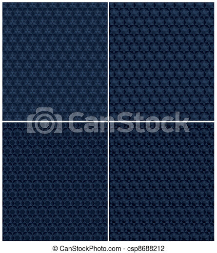 abstract blue grains pattern - csp8688212