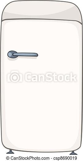 Cartoon Home Kitchen Refrigerator - csp8690019