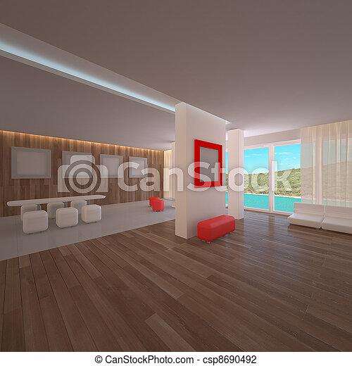 Dachwohnung Interieur Penthouse Dachwohnung Interieur Penthouse ...