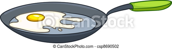 Cartoon Home Kitchen Pan - csp8690502