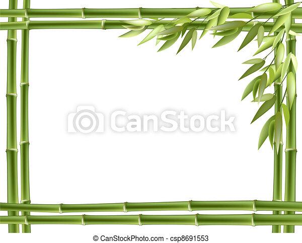 Bamboo frame.  - csp8691553