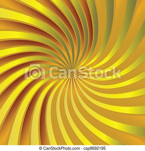 Yellow spiral vortex - csp8692195