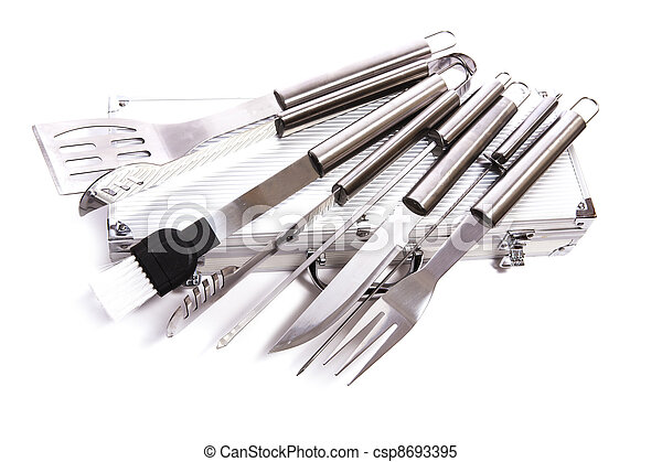 set of BBQ tools - csp8693395