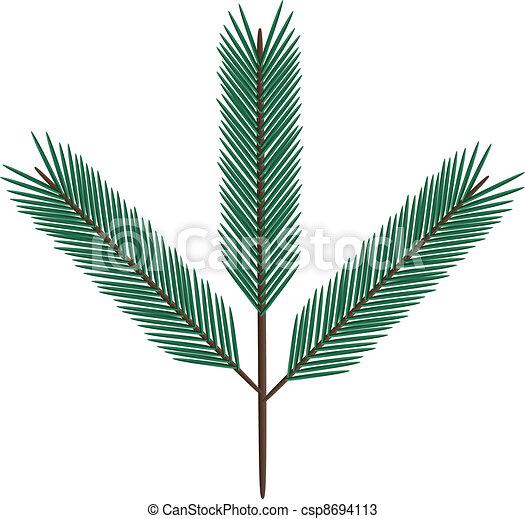 fir twig - csp8694113