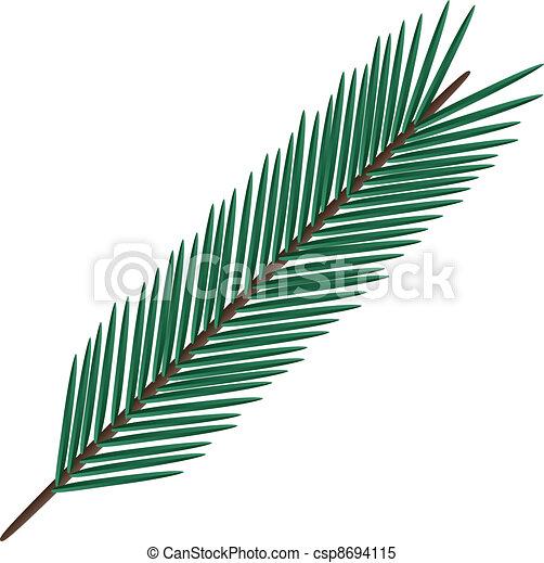fir twig - csp8694115