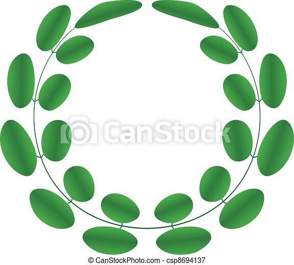 Acacia wreath - csp8694137