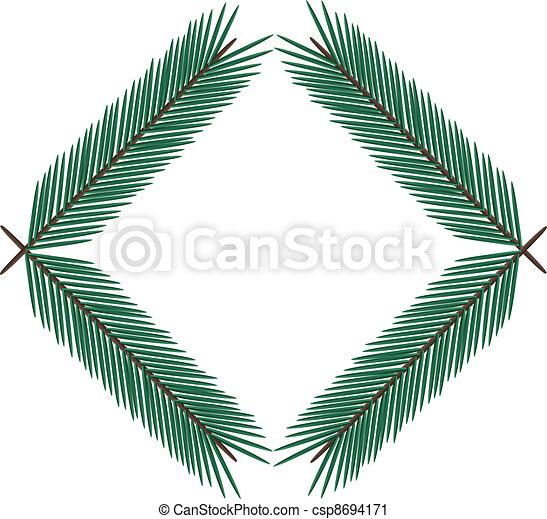 fir twig - csp8694171