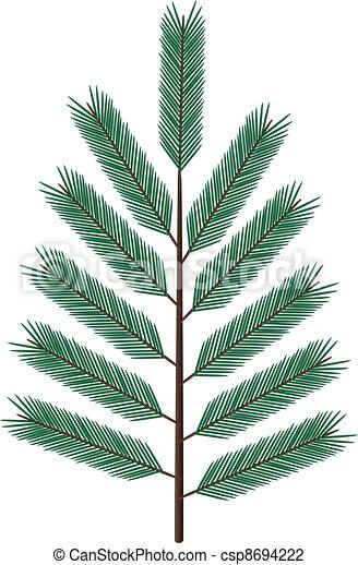 fir twig - csp8694222