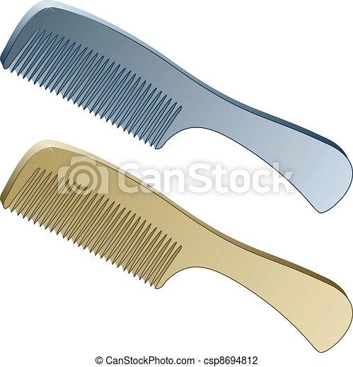 3d metallic combs - csp8694812