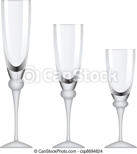 vector wineglasses - csp8694824