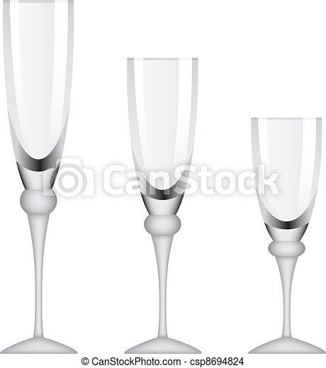 vector wineglasses - csp8694824
