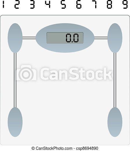 vector weight scale - csp8694890
