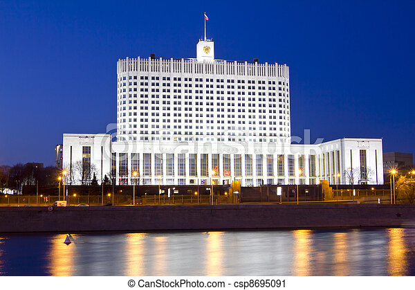 Russian Government house - csp8695091