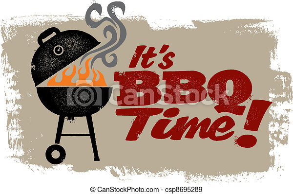 It's BBQ Time - csp8695289