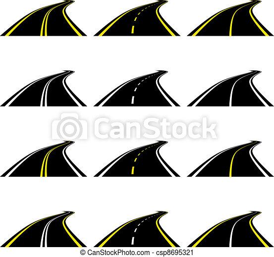 vector roads - csp8695321