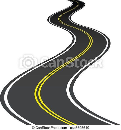 vector road - csp8695610
