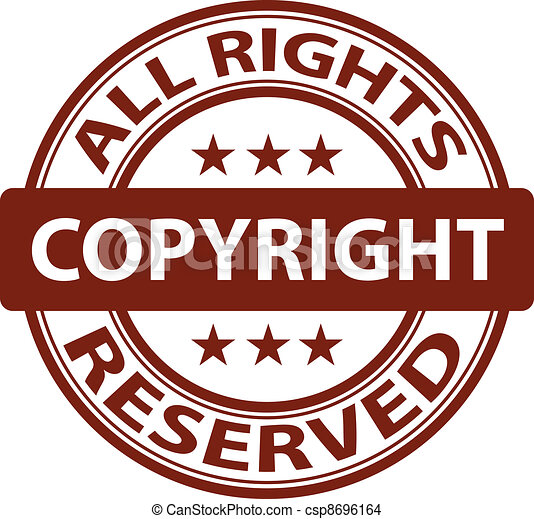 vector pure copyright stamp - csp8696164