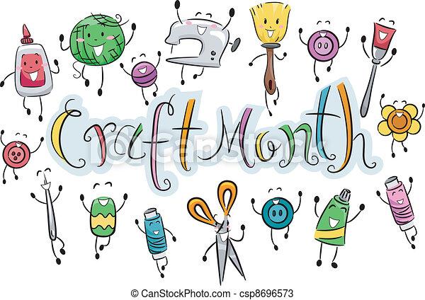 Craft Month - csp8696573