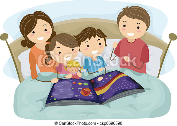 Bedtime Story - csp8696590