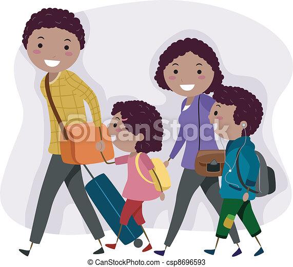 Family Trip - csp8696593
