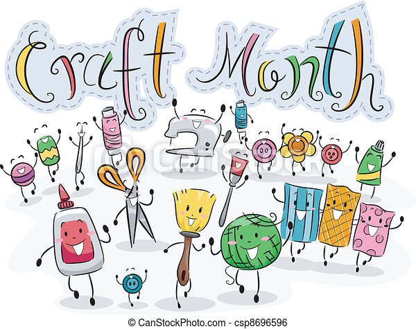 Craft Month - csp8696596