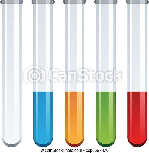 vector test tubes - csp8697376