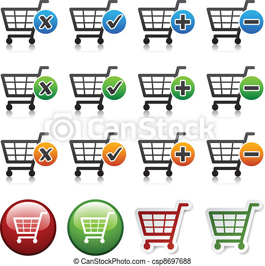vector add delete shopping cart item - csp8697688