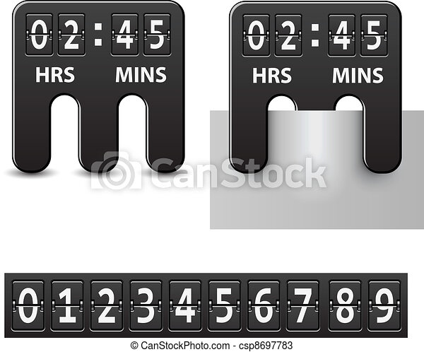 vector countdown attached mechanical timer - csp8697783