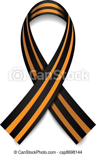 Vector St. George Ribbon - csp8698144