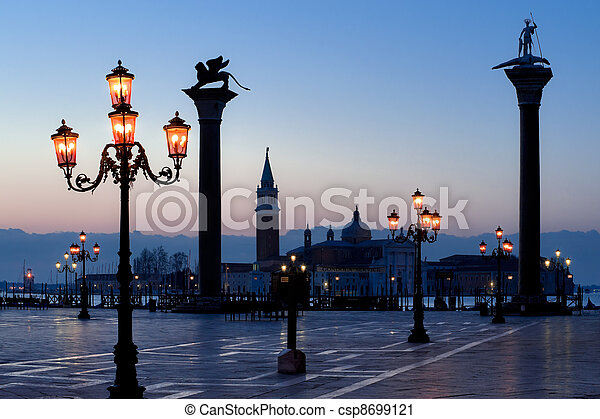 Morning at San Marco square - csp8699121