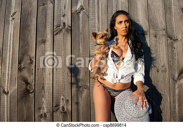 Dog Knot In Hot Woman